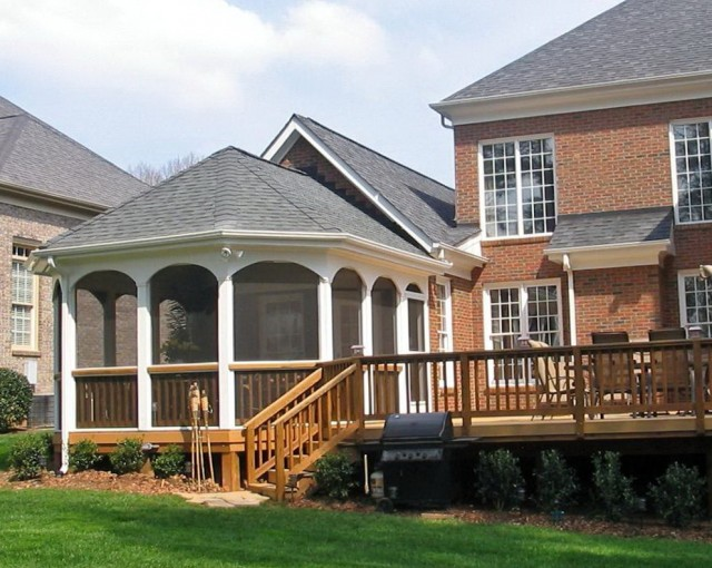 Pictures Of Screened Porches And Decks