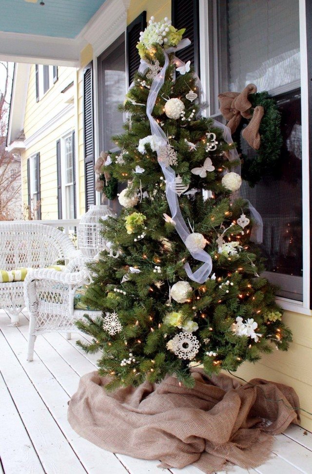 Pinterest Front Porch Christmas Decorating Ideas