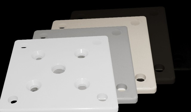 Porch Post Base Mounting Plate