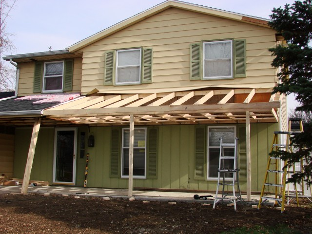 Porch Roof Construction Details