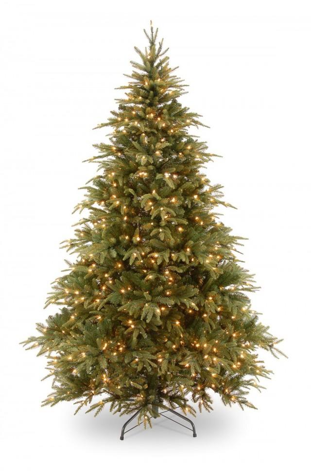 Prelit Porch Christmas Trees
