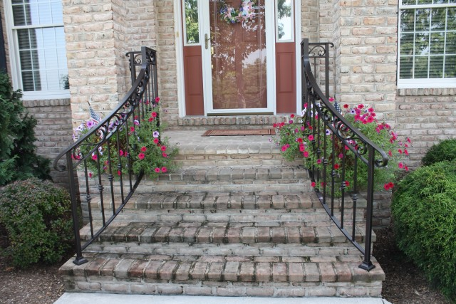 Railings For Front Porch Steps