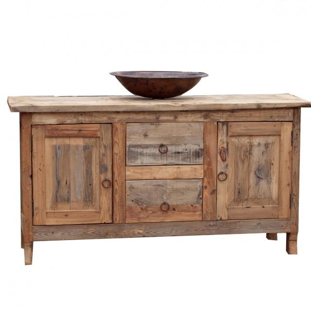 Reclaimed Wood Vanity Top
