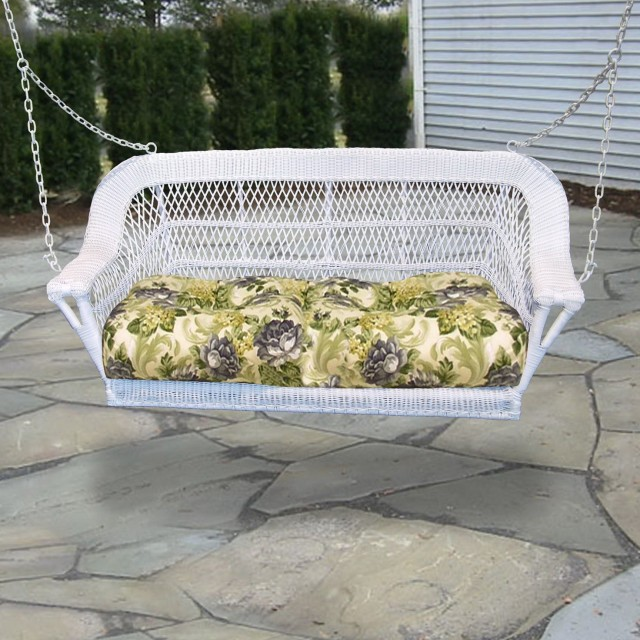 Resin Wicker Porch Swing Furniture