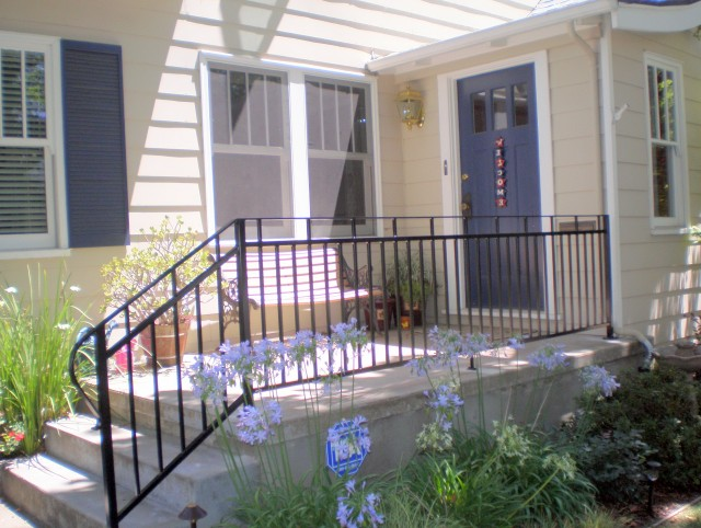 Rod Iron Porch Railings