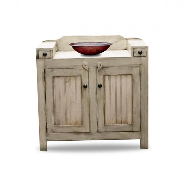 Rustic Farmhouse Bathroom Vanity