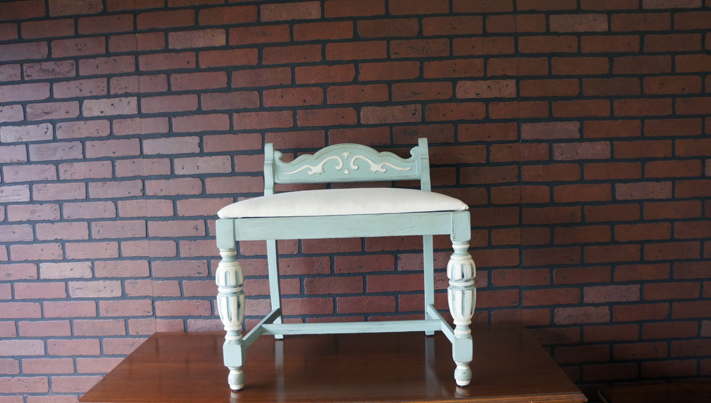 Shabby Chic Vanity Chair