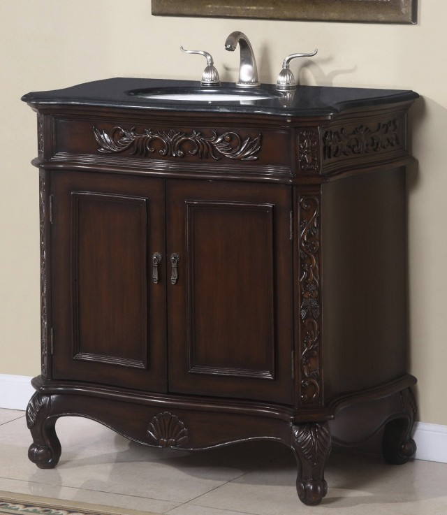 Single Sink Bathroom Vanity Cabinets