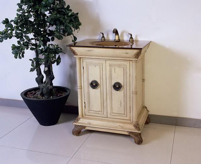 Small Antique Bathroom Vanities
