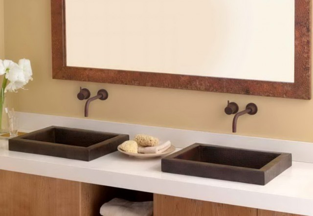 Small Double Vanity Sink