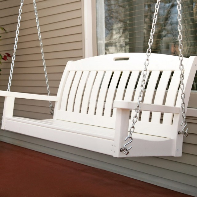 Small Porch Swing Glider