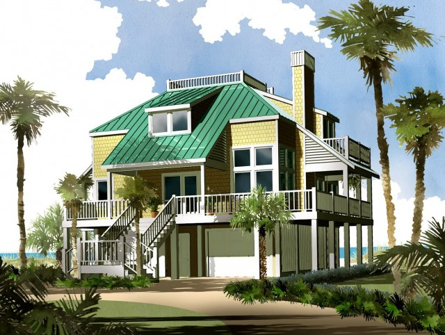 Southern Living House Plans Porches