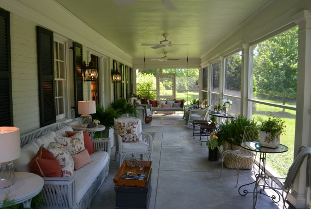 Southern Style Front Porches