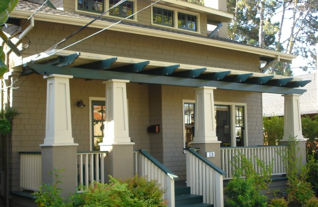 Tapered Porch Columns Plans