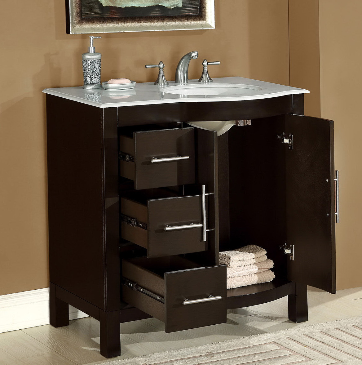 Vanity Tops With Sink On Right Side