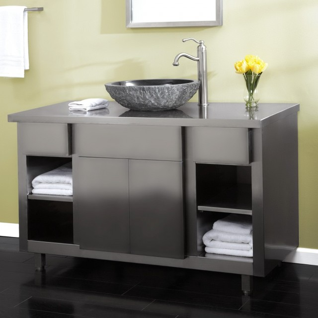 Vanity With Sink On Top