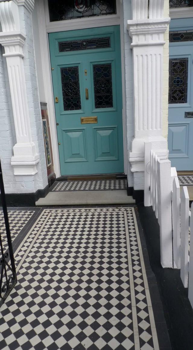 Victorian Front Porch Tiles
