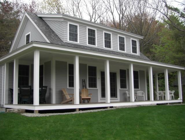 Walk Around Porch House Plans
