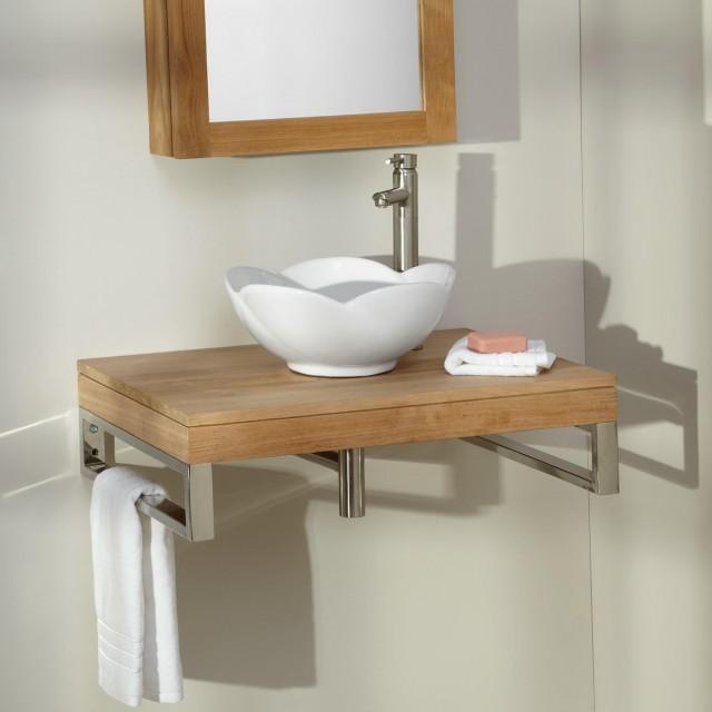 Wall Mounted Bathroom Vanity Installation Instruction