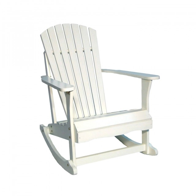 White Porch Rocker Home Depot