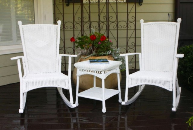 White Porch Rockers Sale