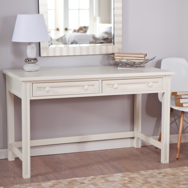White Vanity Desk Sale