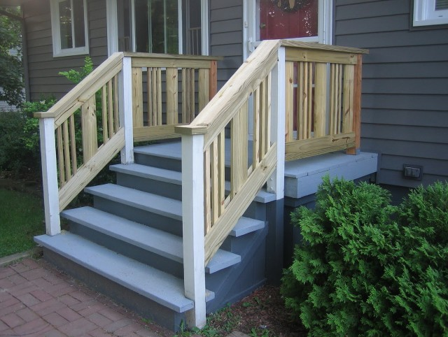 Wood Porch Railings Lowes