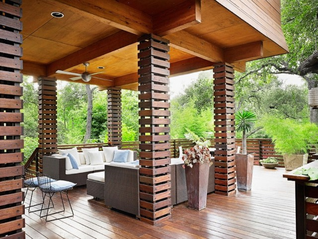 Wooden Columns For Porch