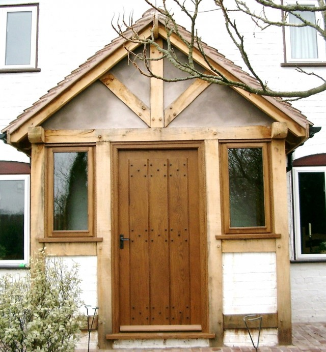 Wooden Front Porch Designs Uk