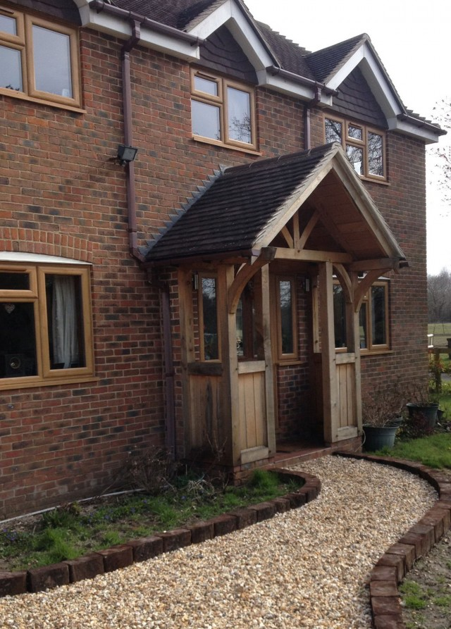 Wooden Porch Posts Uk