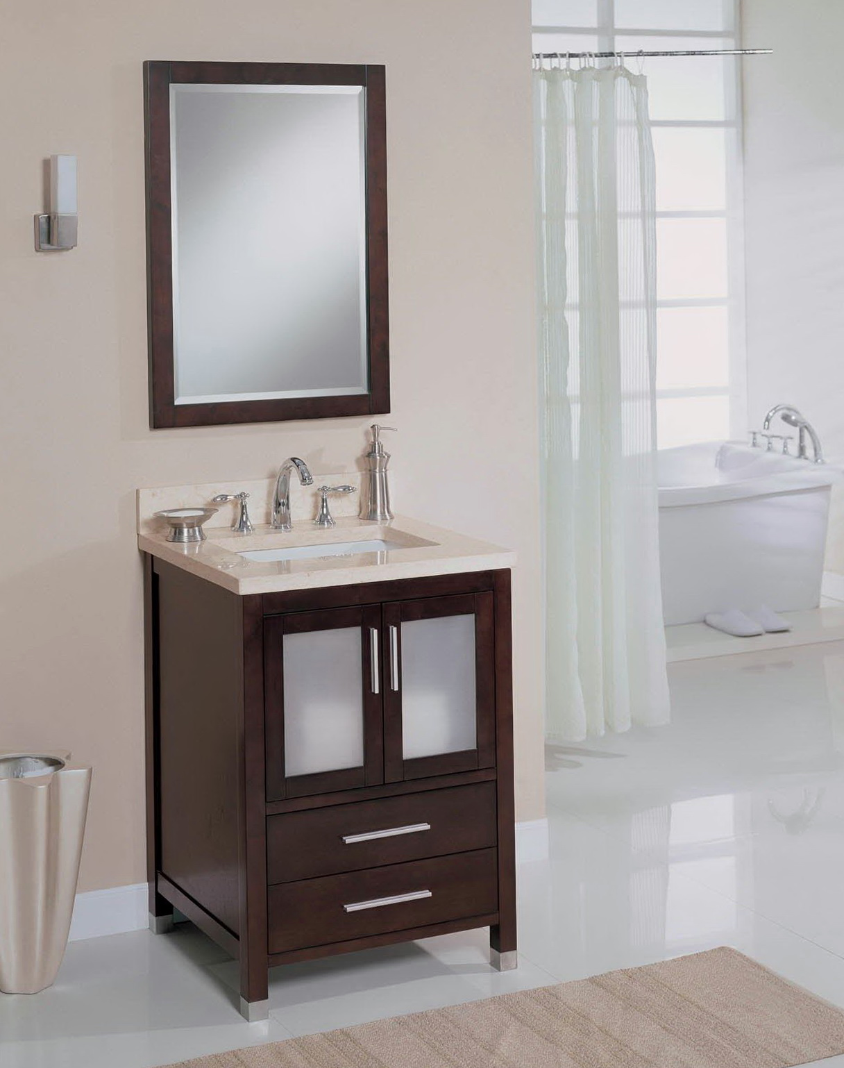 18 Deep Bathroom Vanity