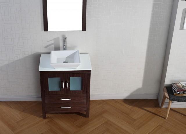 28 Inch Bathroom Vanity Set