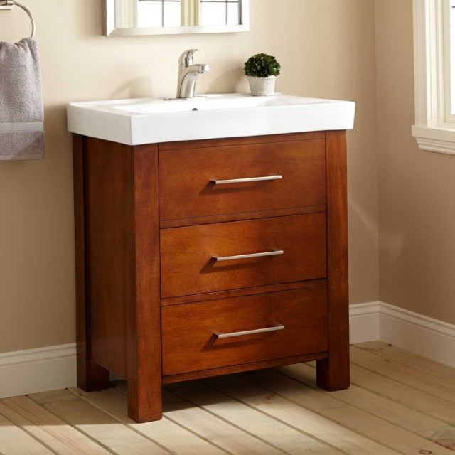 30 Vanity With Drawers