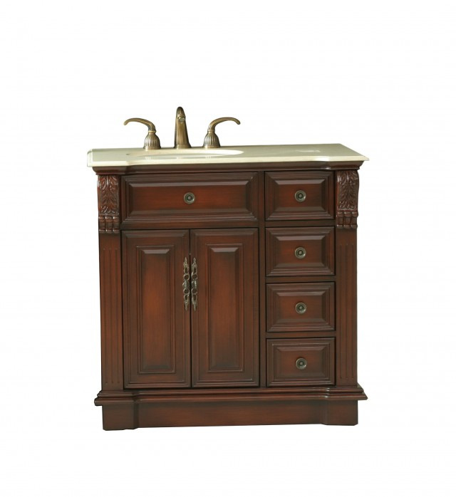 36 Bathroom Vanities With Drawers