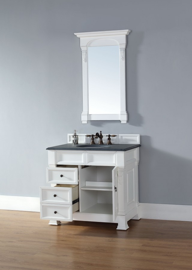 36 Inch White Bathroom Vanity