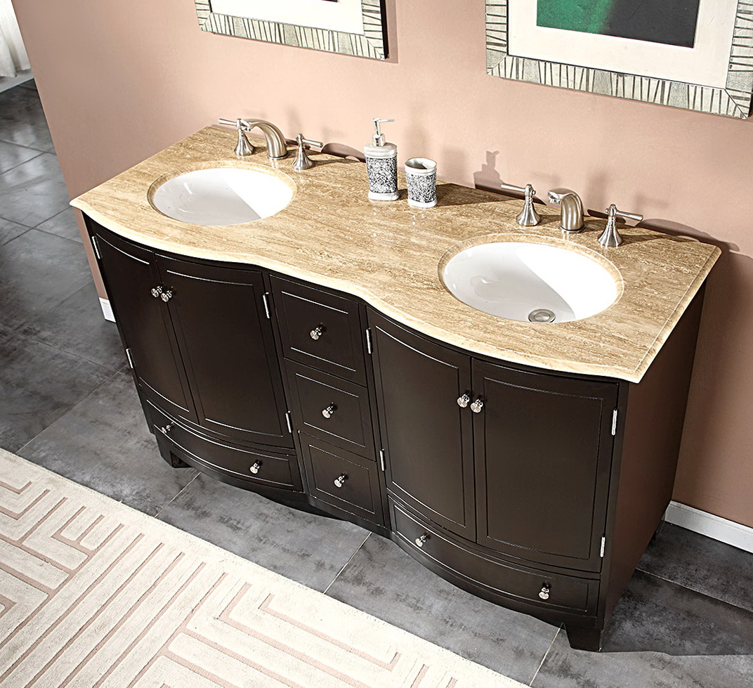 54 Inch Bathroom Vanity Top