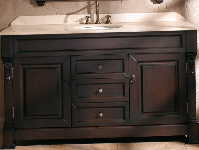 60 Inch Bathroom Vanity Single Sink Lowes