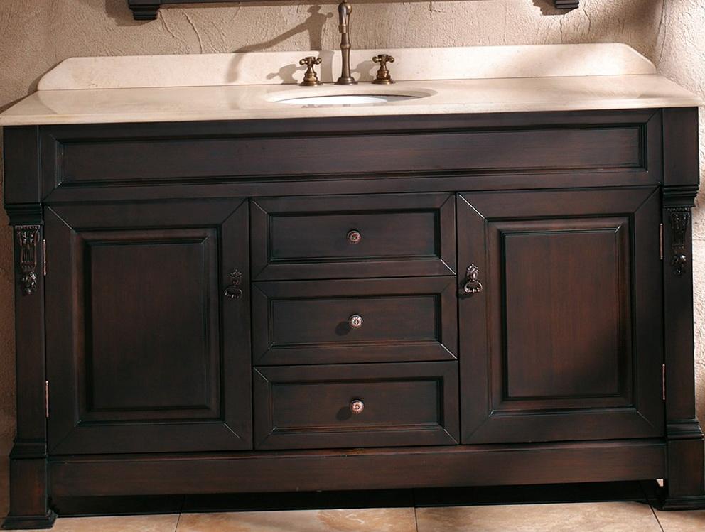 60 Inch Bathroom Vanity Single Sink Lowes