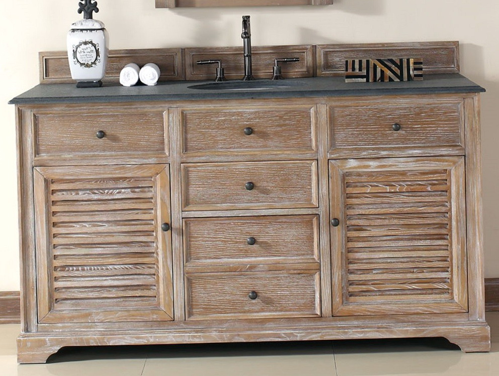 60 Inch Single Sink Vanity Cabinet