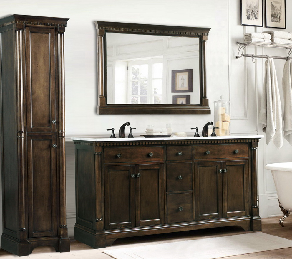 60 Inch Vanity Double Sink Cheap