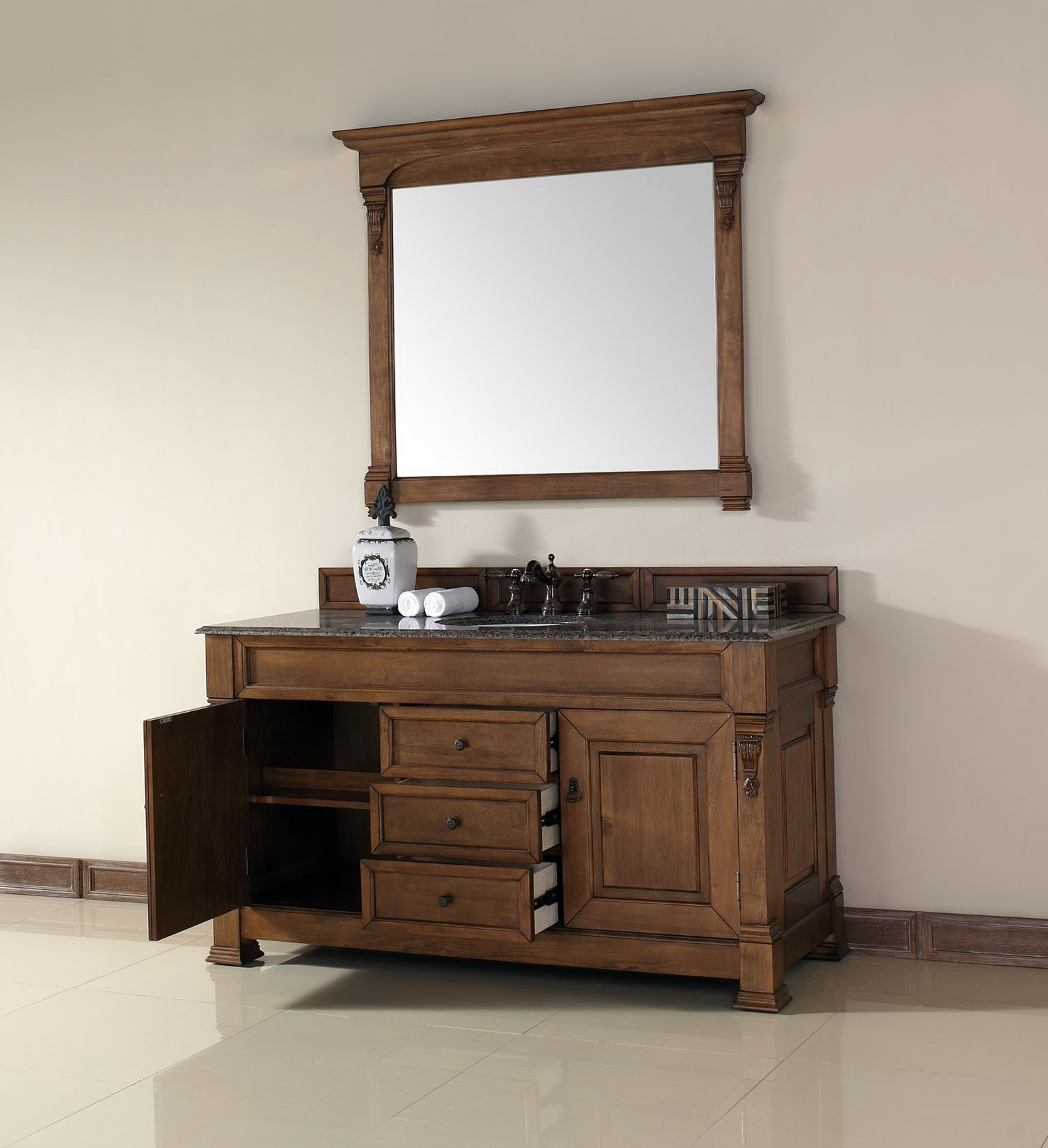 60 Vanity Single Sink Top