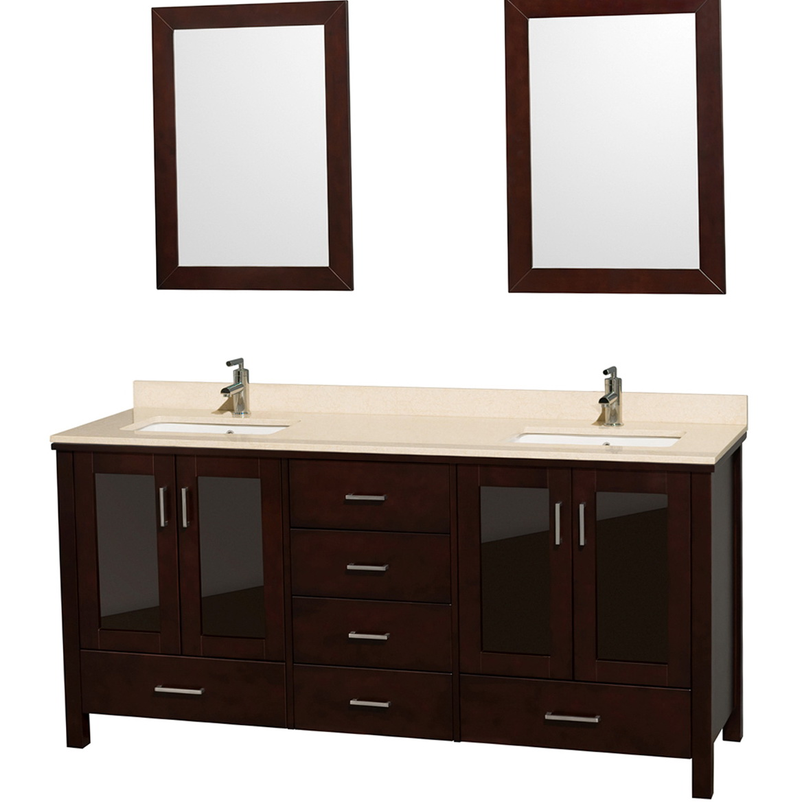 72 Double Vanity Dimensions