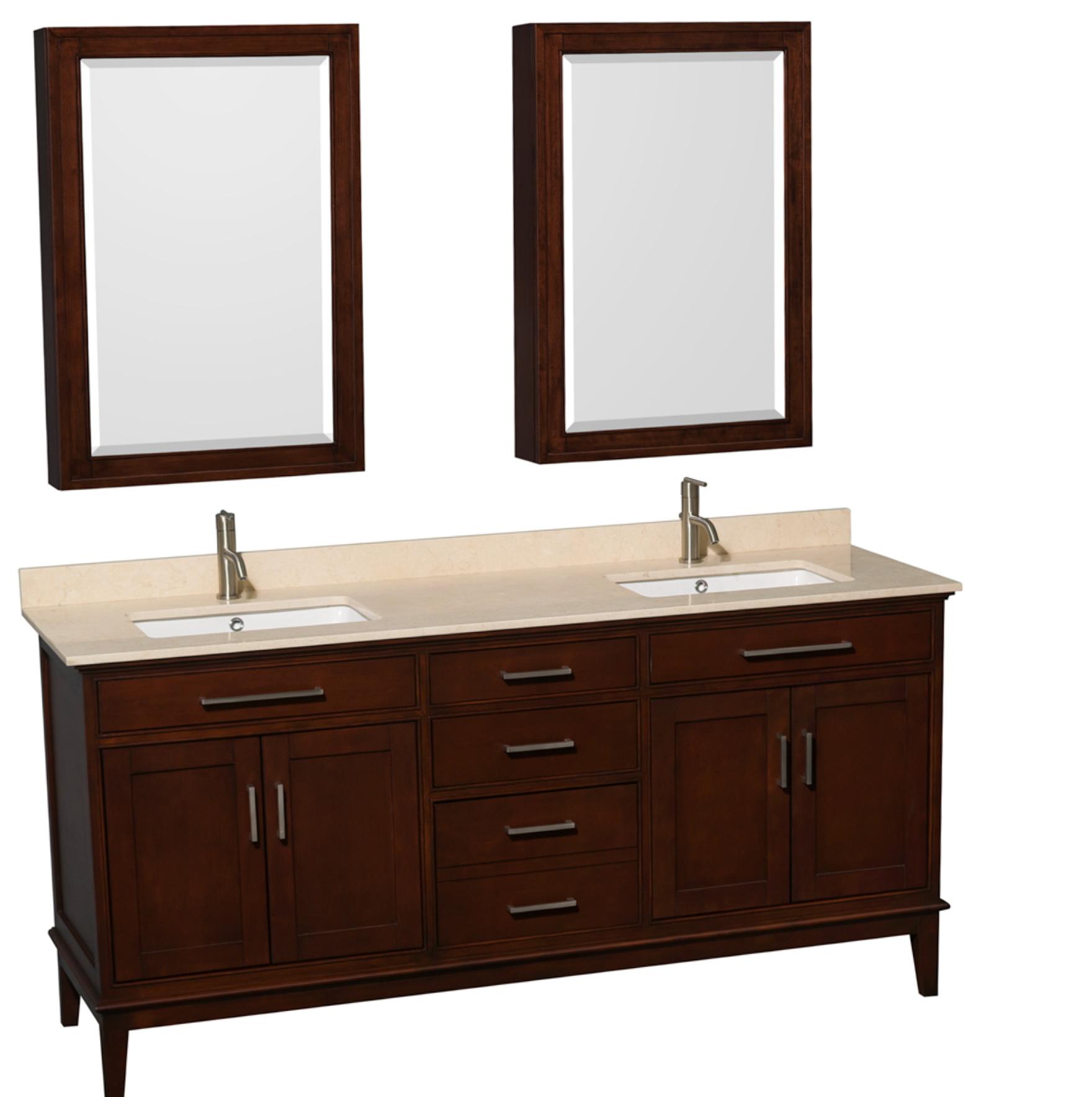 72 Inch Double Sink Vanity Countertop