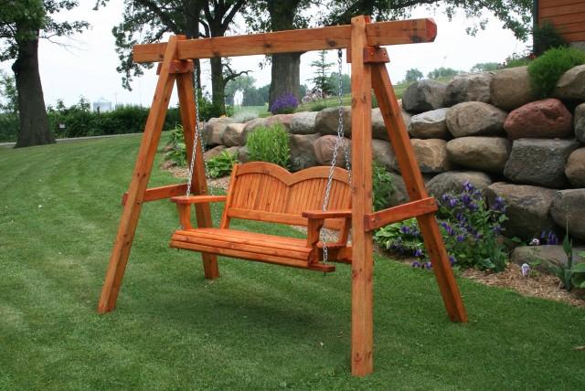 A Frame Porch Swing Plans
