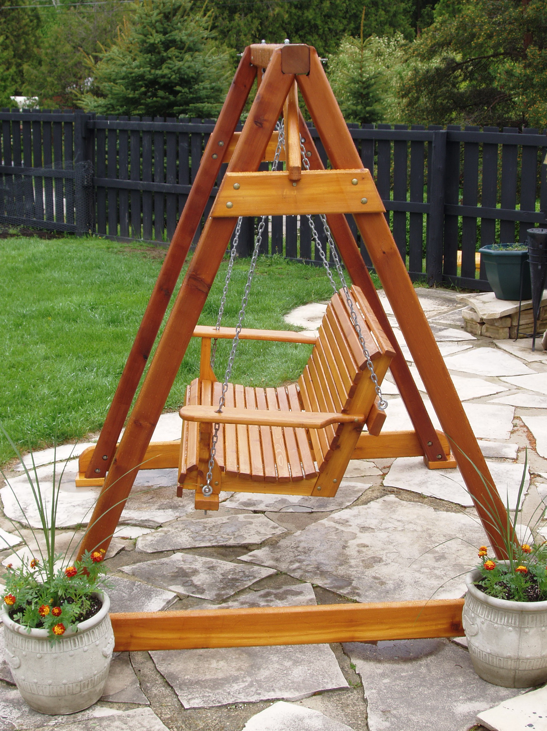 A Frame Porch Swing Plans Free
