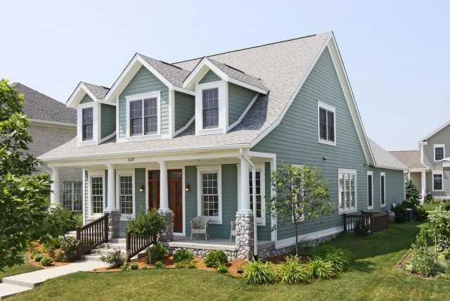 Add Front Porch To Cape Cod
