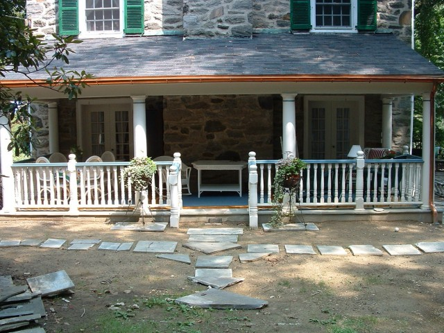 Adding Front Porch To Colonial