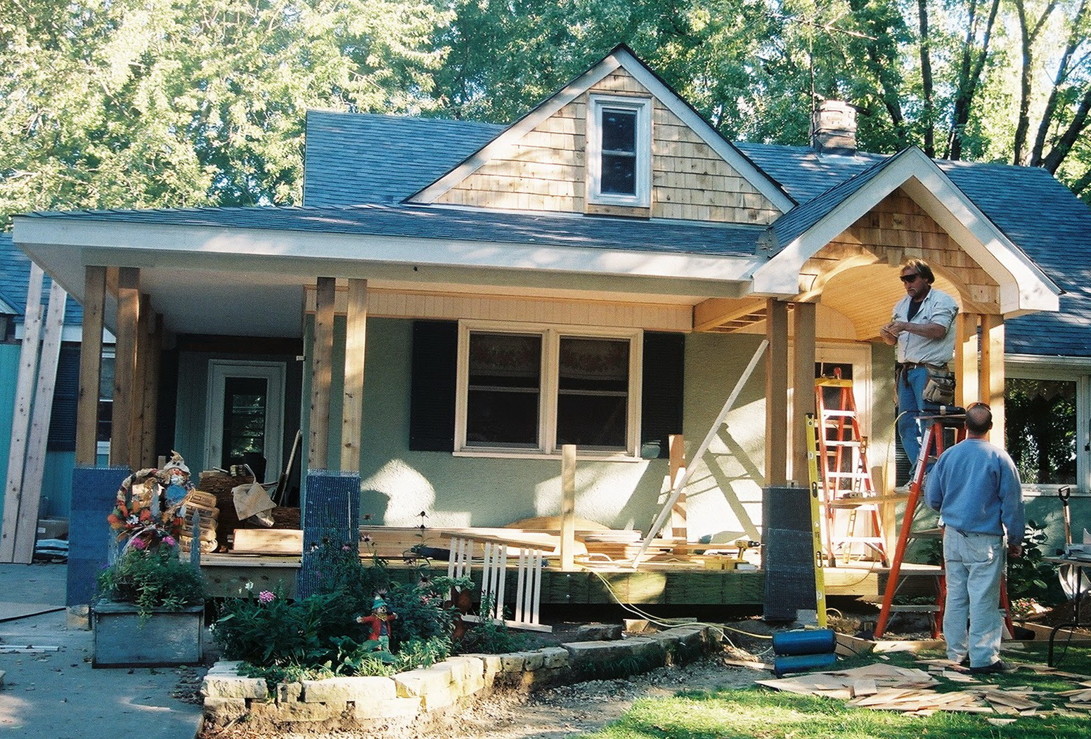 Adding Front Porch To Ranch