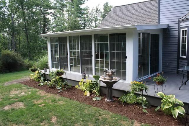 All Season Porch Windows