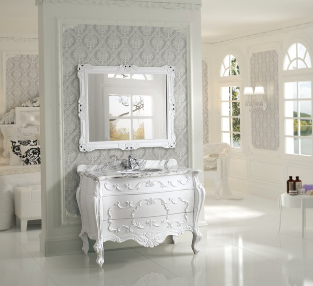 Antique White Bathroom Vanity Canada
